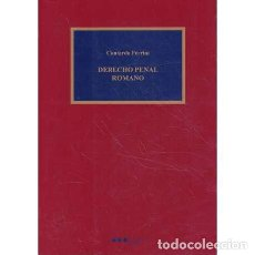 Libros de segunda mano: DERECHO PENAL ROMANO - FERRINI, CONTARDO. Lote 263684095