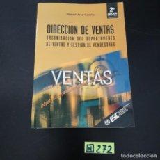 Libros de segunda mano: VENTAS. Lote 265565819