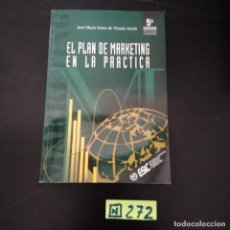 Libros de segunda mano: EL PLAN DE MARKETING EN LA PRACTICA. Lote 265568409