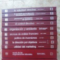 Libros de segunda mano: BIBLIOTECA DE TEMAS EMPRESARIALES - EDITORIAL LABOR - COLECCIÓN DE 13 LIBROS - VER TÍTULOS. Lote 267488514