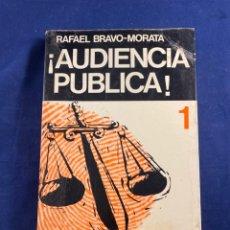Libros de segunda mano: AUDIENCIA PÚBLICA. Lote 267545749