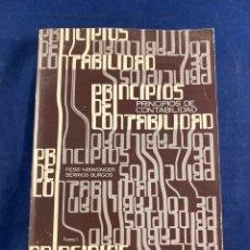 Libros de segunda mano: PRINCIPIOS DE CONTABILIDAD. Lote 267548594