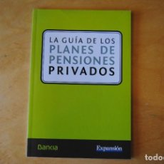 Libros de segunda mano: LA GUÍA DE LOS PLANES DE PENSIONES PRIVADOS. Lote 268417899