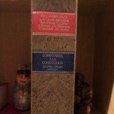 Libros de segunda mano: COMENTARIOS A LA CONSTITUCIÓN ESPAÑOLA DE 1978 GARRIDO FALLA. Lote 268827264
