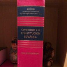 Libros de segunda mano: COMENTARIOS A LA CONSTITUCIÓN ESPAÑOLA CASAS RODRIGUEZ-PIÑERO. Lote 268827689
