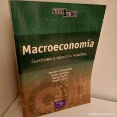 Libros de segunda mano: MACROECONOMIA, CUESTIONES Y EJERCICIOS RESUELTOS, V.V.A.A., PRENTICE HALL, 2002. Lote 269089893