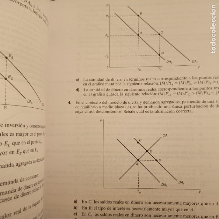 Libros de segunda mano: MACROECONOMIA, CUESTIONES Y EJERCICIOS RESUELTOS, V.V.A.A., PRENTICE HALL, 2002 - Foto 3 - 269089893