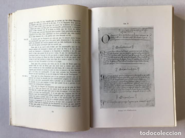 """Libros de segunda mano: EL """"LLIBRE DE LA CADENA"""" DE REUS. RÈGIM JURÍDIC DE LA VILA EN L'EDAT MITJANA. Vol. I. Estudi... - Foto 4 - 276789338"""
