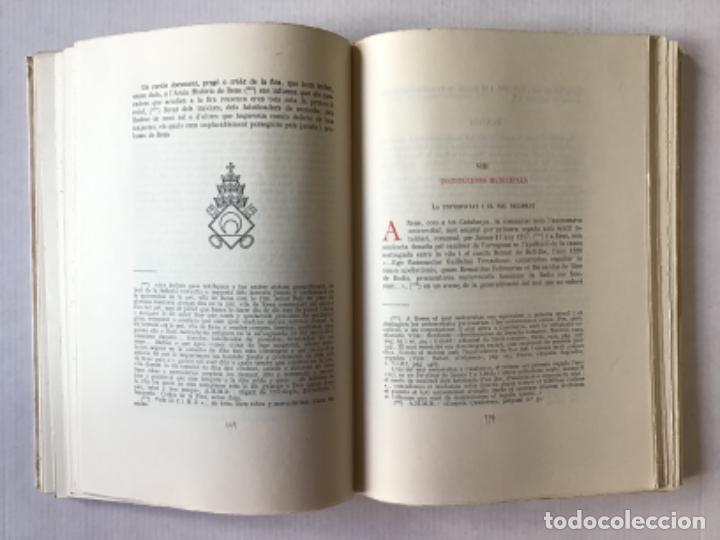 """Libros de segunda mano: EL """"LLIBRE DE LA CADENA"""" DE REUS. RÈGIM JURÍDIC DE LA VILA EN L'EDAT MITJANA. Vol. I. Estudi... - Foto 5 - 276789338"""