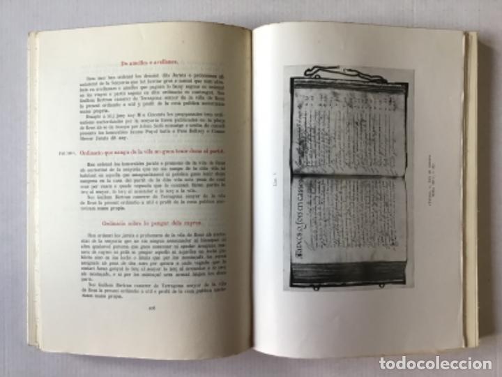 """Libros de segunda mano: EL """"LLIBRE DE LA CADENA"""" DE REUS. RÈGIM JURÍDIC DE LA VILA EN L'EDAT MITJANA. Vol. I. Estudi... - Foto 7 - 276789338"""