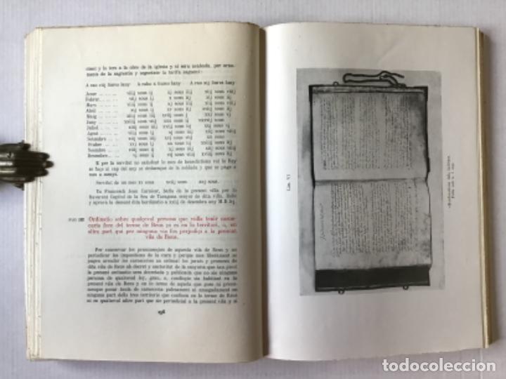 """Libros de segunda mano: EL """"LLIBRE DE LA CADENA"""" DE REUS. RÈGIM JURÍDIC DE LA VILA EN L'EDAT MITJANA. Vol. I. Estudi... - Foto 8 - 276789338"""