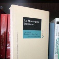 Libros de segunda mano: LA MONARQUIA JAPONESA RODRIGUEZ ARTACHO. Lote 277261493