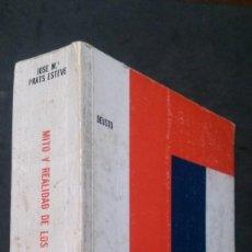 Libros de segunda mano: MITO Y REALIDAD DE LOS FONDOS DE INVERSIÓN-JOSÉ MARÍA PRATS ESTEVE-DEUSTO-1971. Lote 277722133