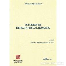 Libros de segunda mano: ESTUDIOS DE DERECHO FISCAL ROMANO - AGUDO RUIZ, ALFONSO. Lote 277823298