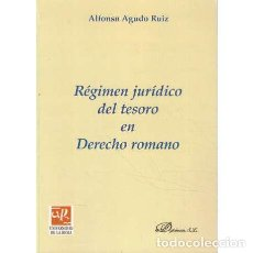 Libros de segunda mano: RÉGIMEN JURDICO DEL TESORO EN DERECHO ROMANO - AGUDO RUIZ, ALFONSO. Lote 277823293