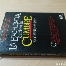 Libros de segunda mano: LA EXCELENCIA ESTA EN LA CUMBRE / CARLOS REGUEIRA, EL YUPPIE Y EL ÉXITO / CDR / AK98. Lote 278704763