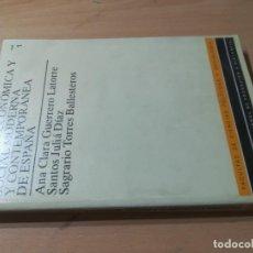 Libros de segunda mano: HISTORIA SOCIAL Y ECONÓMICA MODERNA Y CONTEMPORANEA DE ESPAÑA / VV/AA, SIGLOS XV - XIX / UNED / AL36. Lote 278705183