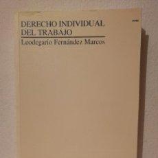Libros de segunda mano: LIBRO - DERECHO - INDIVIDUAL DEL TRABAJO UNIVERSIDAD NACIONAL DE EDUCACIÓN A DISTANCIA. Lote 278846648