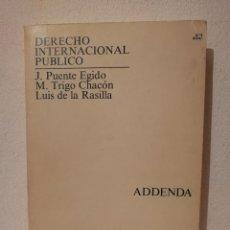 Libros de segunda mano: LIBRO - DERECHO - INTERNACIONAL PUBLICO UNIVERSIDAD NACIONAL DE EDUCACIÓN A DISTANCIA. Lote 278846658