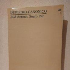Libros de segunda mano: LIBRO - DERECHO - CANONICO UNIVERSIDAD NACIONAL DE EDUCACIÓN A DISTANCIA. Lote 278846668