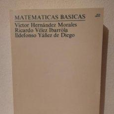 Libros de segunda mano: LIBRO - MATEMATICAS - BASICAS NACIONAL DE EDUCACIÓN A DISTANCIA. Lote 278846693