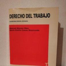Libros de segunda mano: LIBRO - DERECHO - DEL TRABAJO - FACULTAD UNIVERSIDAD COMPLUTENSE. Lote 278846703