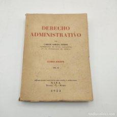 Livros em segunda mão: DERECHO ADMINISTRATIVO. CARLOS GARCIA OVIEDO- VOL. II. E.I. S. A. 1953. PAGS.409.. Lote 280868878