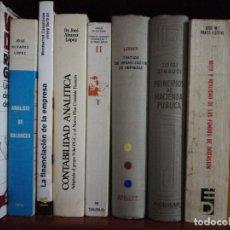 Libri di seconda mano: 9 LIBROS ECONOMIA. Lote 282938363