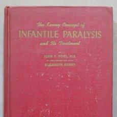 Libros de segunda mano: THE KENNY METHOD OF TREATMENT FOR INFANTILE PARALYSIS. Lote 285560493