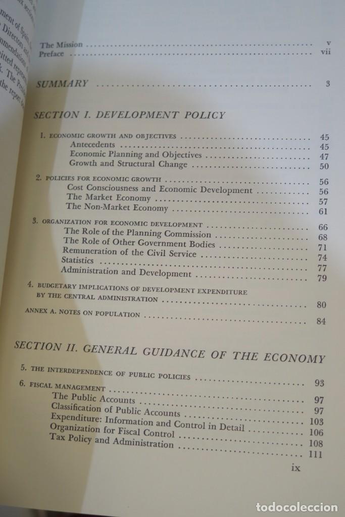 Libros de segunda mano: THE ECONOMIC DEVELOPMENT OF SPAIN - Foto 2 - 285560973