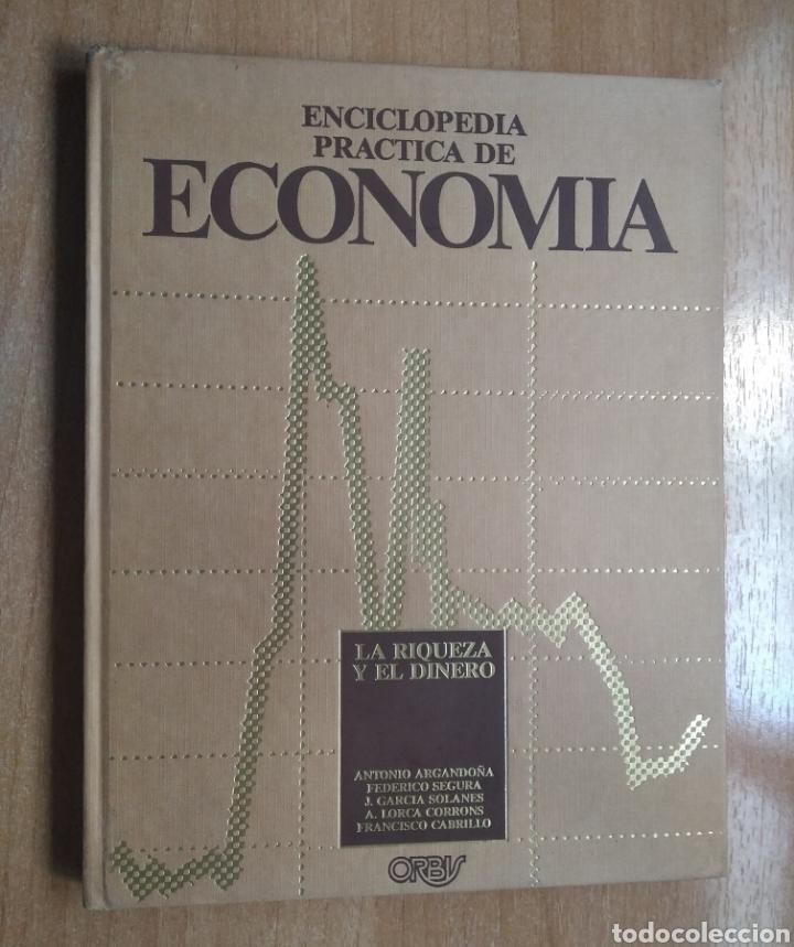 LIBRO ENCICLOPEDIA PRÁCTICA DE ECONOMÍA 1 ANTONIO ARGANDOÑA (Libros de Segunda Mano - Ciencias, Manuales y Oficios - Derecho, Economía y Comercio)