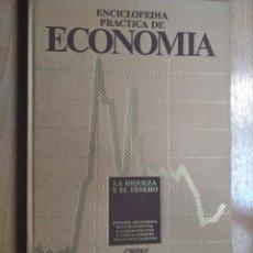 Libros de segunda mano: LIBRO ENCICLOPEDIA PRÁCTICA DE ECONOMÍA 1 ANTONIO ARGANDOÑA. Lote 286662358