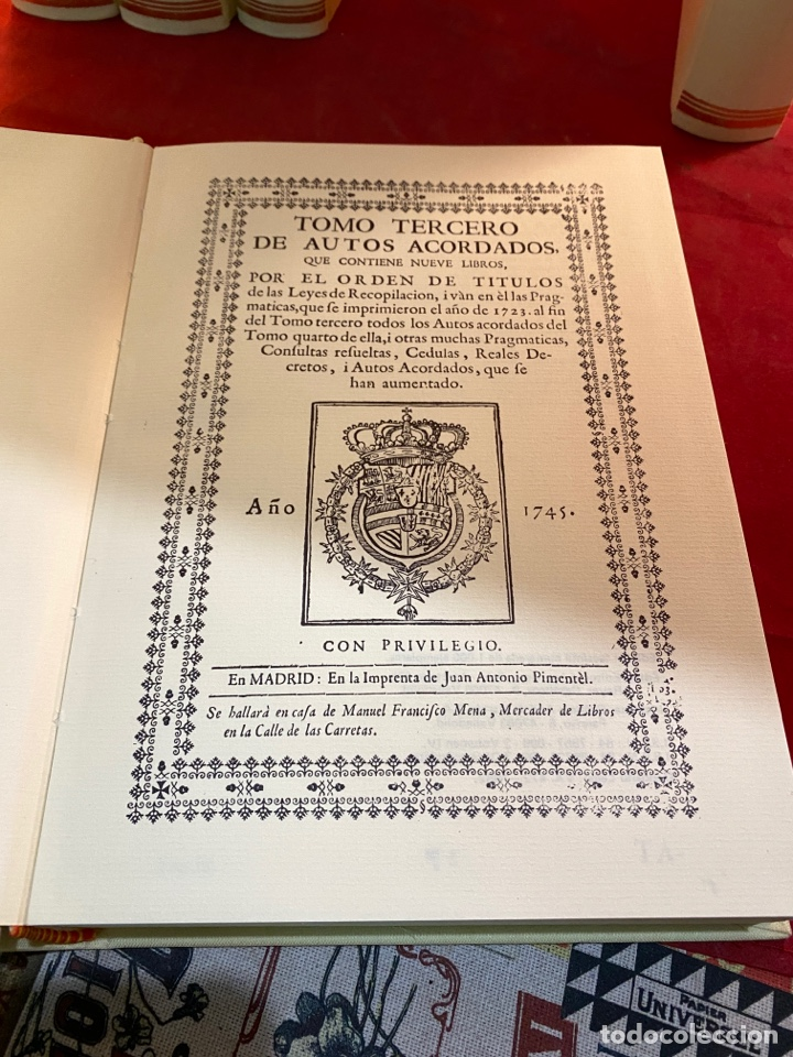 Libros de segunda mano: RECOPILACIÓN DE LAS LEYES DE ESTOS REYNOS - Foto 6 - 287655063