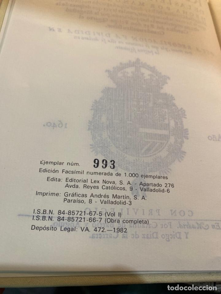 Libros de segunda mano: RECOPILACIÓN DE LAS LEYES DE ESTOS REYNOS - Foto 8 - 287655063