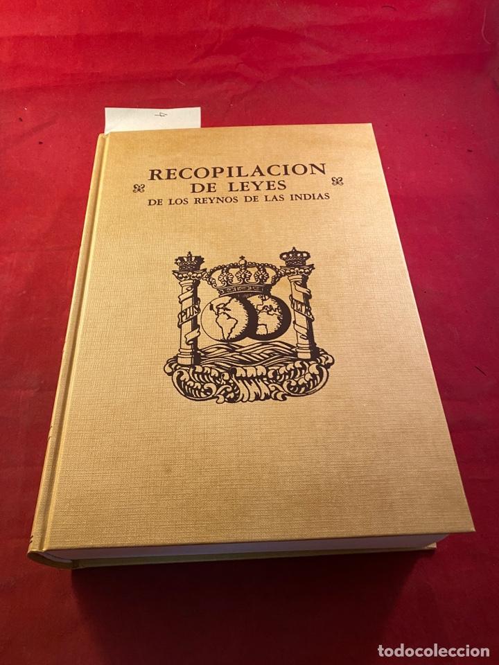 Libros de segunda mano: RECOPILACIÓN DE LEYES DE LOS REYNOS DE LAS INDIAS - Foto 2 - 287663593