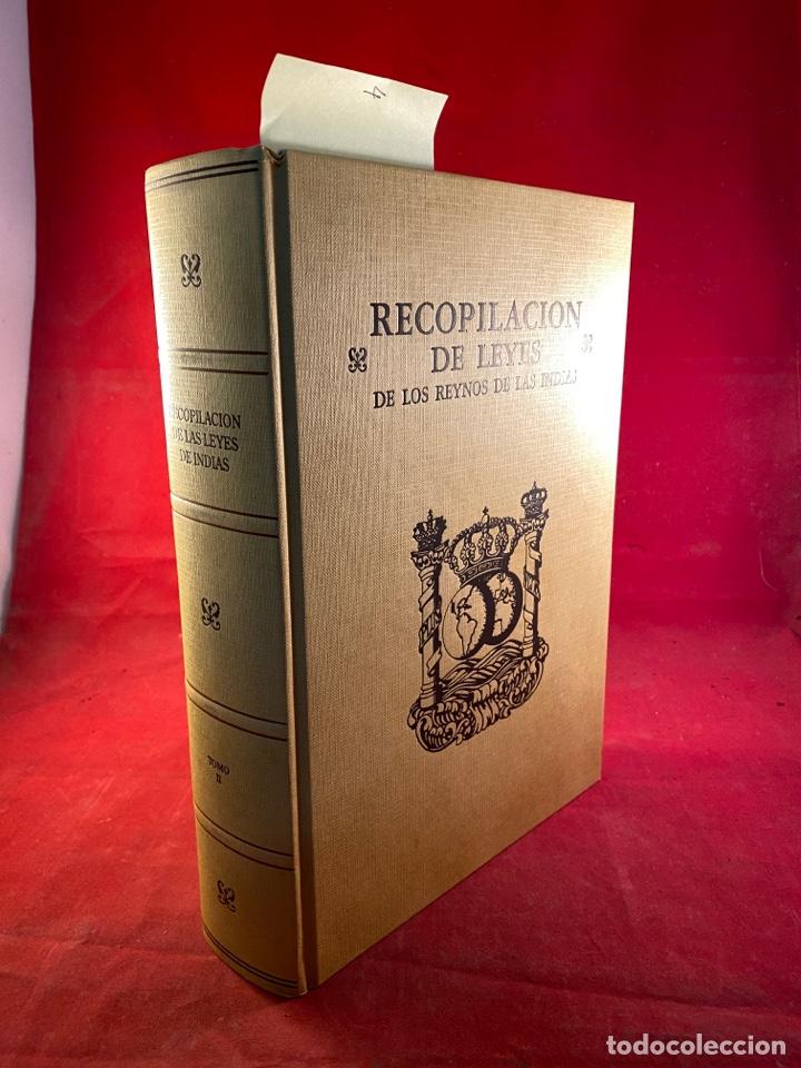 RECOPILACIÓN DE LEYES DE LOS REYNOS DE LAS INDIAS (Libros de Segunda Mano - Ciencias, Manuales y Oficios - Derecho, Economía y Comercio)