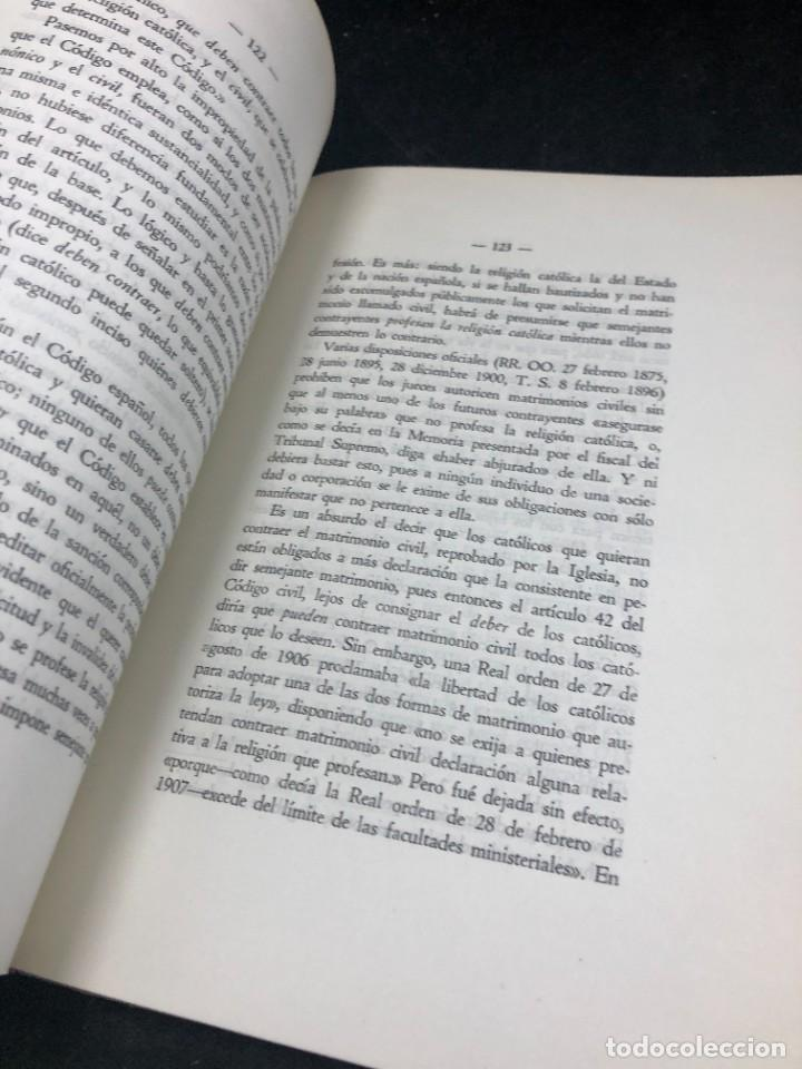 Libros de segunda mano: El nuevo concordato español. Eloy Montero y Gutierrez 1954 - Foto 4 - 287780718