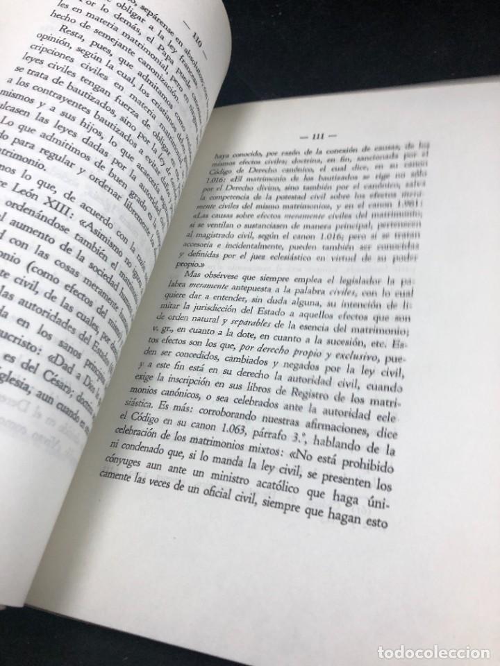 Libros de segunda mano: El nuevo concordato español. Eloy Montero y Gutierrez 1954 - Foto 5 - 287780718