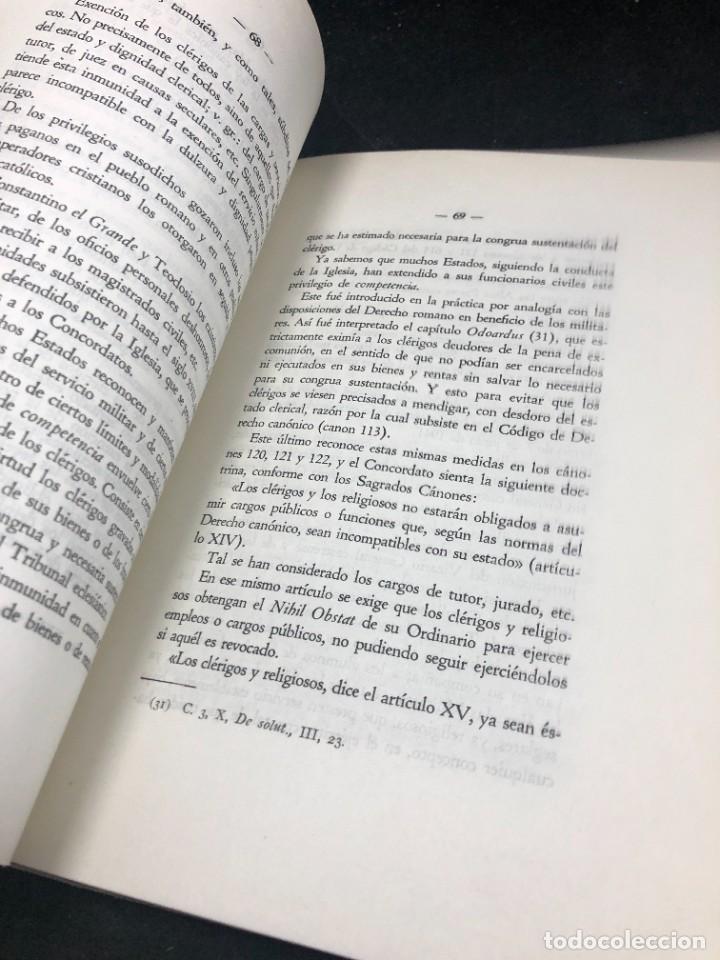 Libros de segunda mano: El nuevo concordato español. Eloy Montero y Gutierrez 1954 - Foto 7 - 287780718