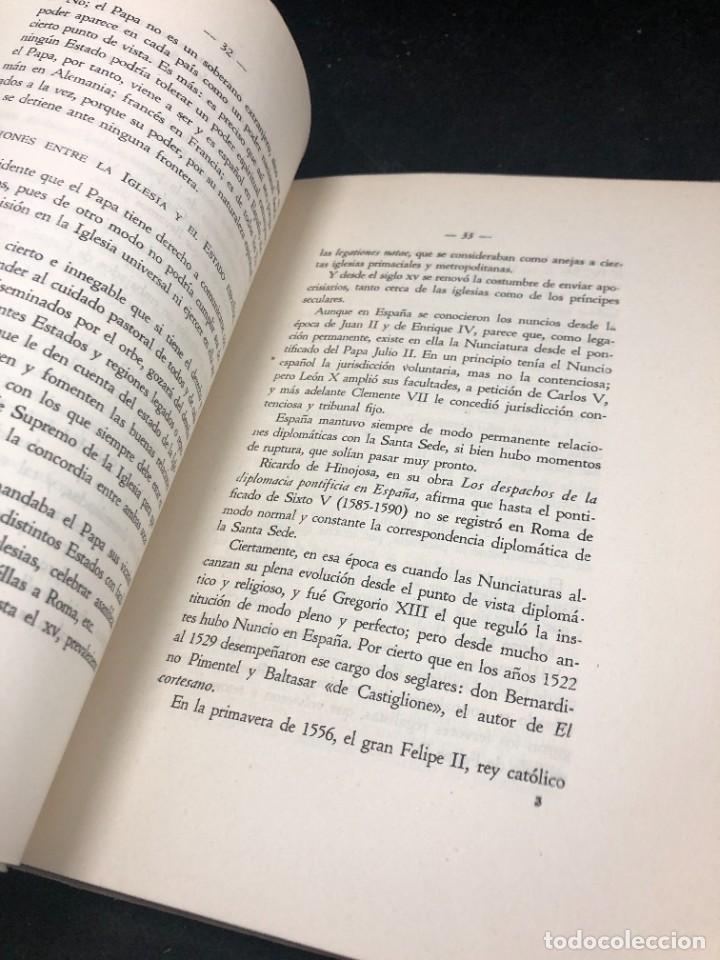Libros de segunda mano: El nuevo concordato español. Eloy Montero y Gutierrez 1954 - Foto 8 - 287780718