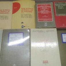 Libros de segunda mano: LOTE DE TOMOS DE DERECHO. Lote 287896093