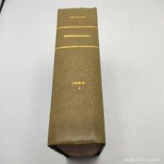 Libros de segunda mano: REPERTORIO DE JURISPRUDENCIA. EDITORIAL ARANZADI. TOMO XXIX. 1ª ED. 1962. PAGS. 1840.. Lote 288564638