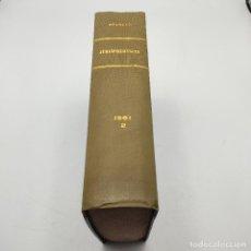 Libros de segunda mano: REPERTORIO DE JURISPRUDENCIA. EDITORIAL ARANZADI. TOMO 2. 1ª ED. 1961. PAGS. DESDE LA 1617 A LA 3145. Lote 288564948