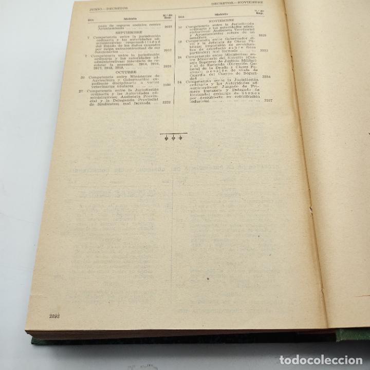Libros de segunda mano: REPERTORIO DE JURISPRUDENCIA. EDITORIAL ARANZADI. TOMO 2. 1ª ED. 1960. PAGS. DESDE 1441 A LA 2898.. - Foto 4 - 288565113