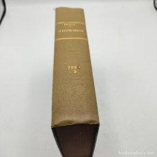 Libros de segunda mano: REPERTORIO DE JURISPRUDENCIA. EDITORIAL ARANZADI. TOMO 2. 1ª ED. 1959. PAGS. DESDE 1473 A LA 2946... Lote 288565203