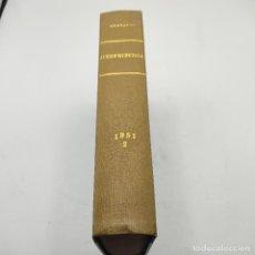 Libros de segunda mano: REPERTORIO DE JURISPRUDENCIA. EDITORIAL ARANZADI. TOMO 2. 1ª ED. 1951. PAGS. DESDE 993 A LA 1988.. Lote 288565328