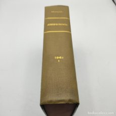 Libros de segunda mano: REPERTORIO DE JURISPRUDENCIA. EDITORIAL ARANZADI. TOMO XXVIII. 1ª ED. 1961. PAGS. 1616.. Lote 288565438