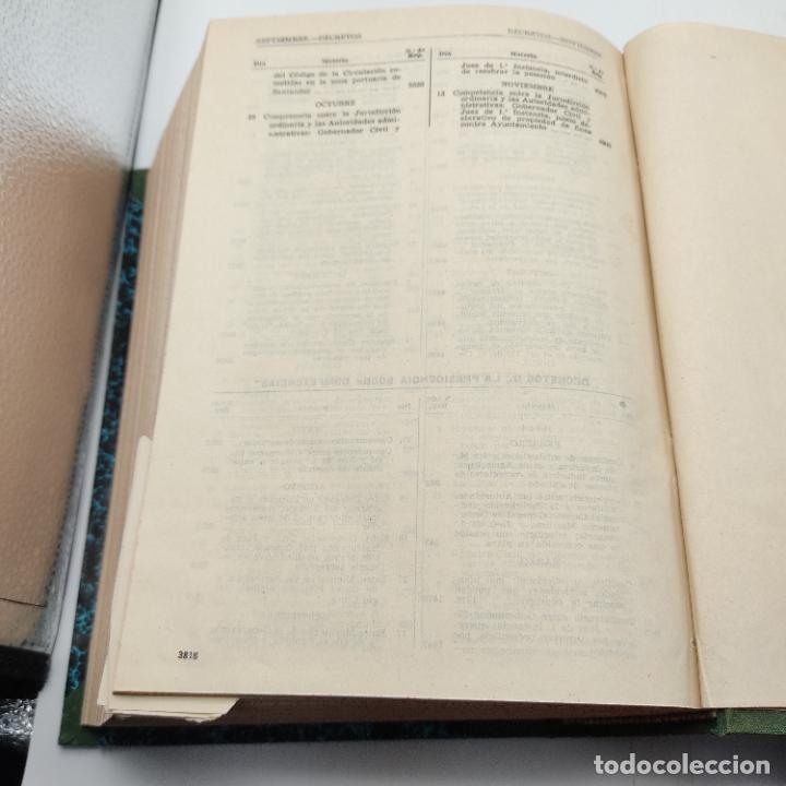 Libros de segunda mano: REPERTORIO DE JURISPRUDENCIA. EDITORIAL ARANZADI. TOMO 2. 1ª ED. 1964. PAGS. DESDE 1921 A LA 3818. - Foto 4 - 288565683