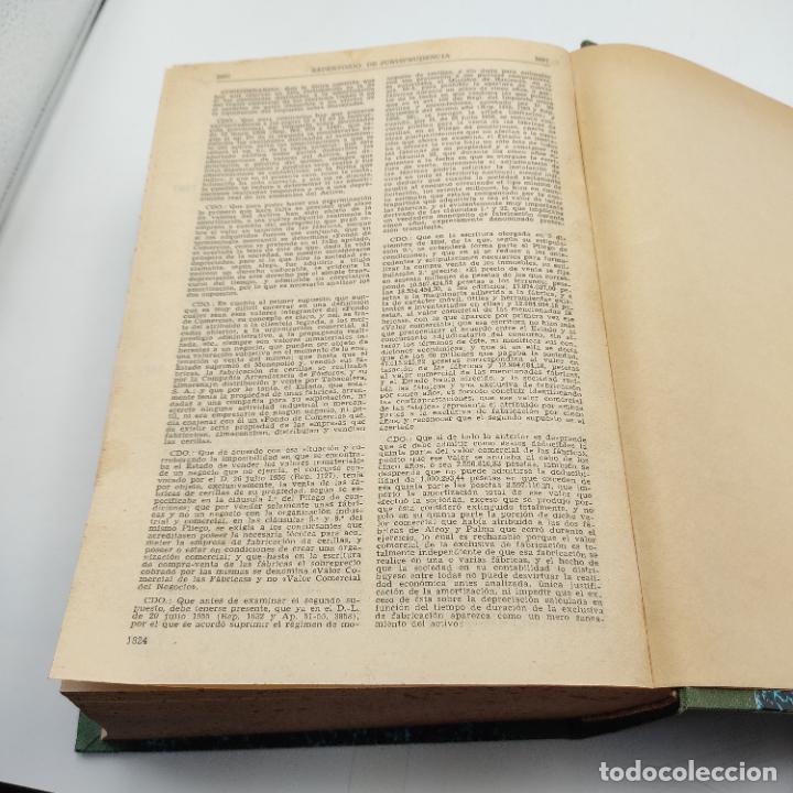 Libros de segunda mano: REPERTORIO DE JURISPRUDENCIA. EDITORIAL ARANZADI. TOMO XXX. 1ª ED. 1963. PAGS. 1824. - Foto 5 - 288565813