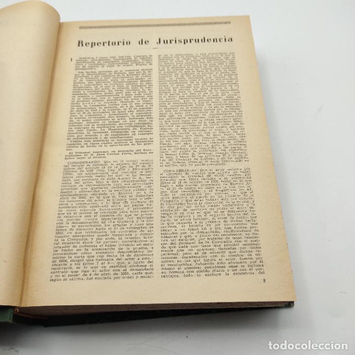 Libros de segunda mano: REPERTORIO DE JURISPRUDENCIA. EDITORIAL ARANZADI. TOMO XXIV. 1ª ED. 1957. PAGS. 1264. - Foto 3 - 288565978